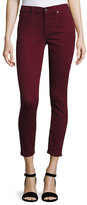 7 For All Mankind The Ankle Skinny Jeans, Cranberry