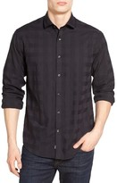 James Campbell Men's Peele Jacquard Sport Shirt