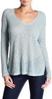 Lush V-Neck Hi-Lo Sweater