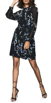Reiss Nettie Floral Print Dress