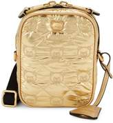 Moschino Quilted Convertible Messenger Bag