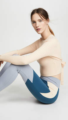 Live The Process Crop Open Back Knit