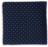 Black Brown 1826 Dotted Pocket Square