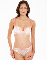 Just Peachy By Figleaves.com Eva Lace Padded Balconette Bra (A-DD)