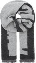 Mcq Alexander Mcqueen Logo Wool Scarf