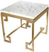 A&B Home Phoenician Nights Marble End Table