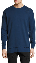 Zanerobe Rugger Crewneck Distressed Sweatshirt