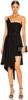 Monse Corset Dress in Black | FWRD