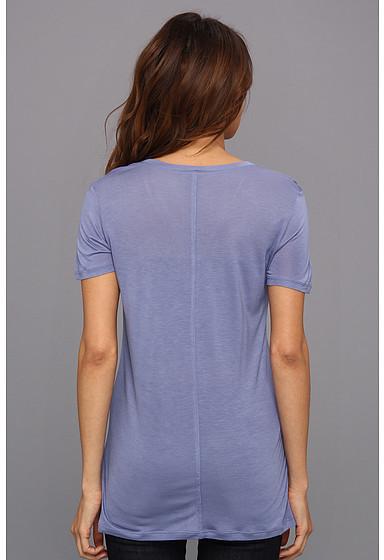 Calvin Klein Jeans Solid V-Neck Tee