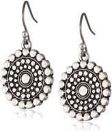 """Lucky Brand Blue Moon"""" Tribal Drop Earrings"""