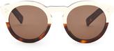 Illesteva Leonard II Havana round-frame sunglasses