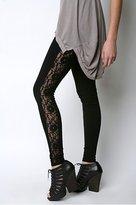 Lace Inset Legging