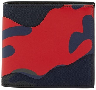 Valentino Billfold camouflage wallet