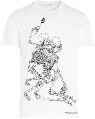 Alexander McQueen Skeleton T-Shirt