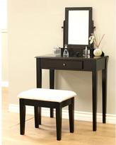 Frenchi Home Furnishing 3-Piece Expresso Vanity Set