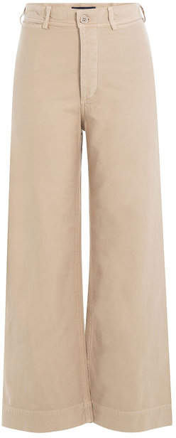 Citizens of Humanity Wide Leg Cotton Pants