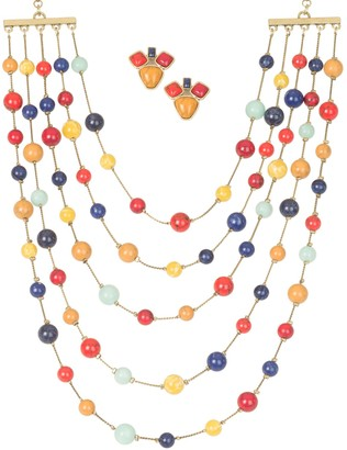 Linea by Louis Dell'Olio Chatelain Necklace and Earrings Set