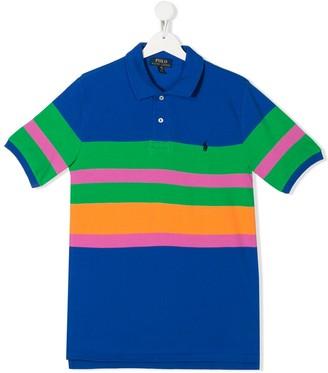 Ralph Lauren Kids TEEN striped polo shirt