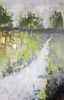 "Boston Warehouse Hand Embellished Canvas Art, by Beau Jones, 24x36"""