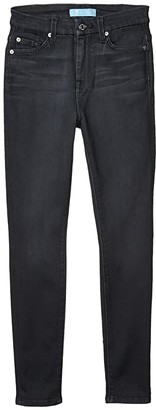 7 For All Mankind High-Waisted Ankle Skinny Jeans in b(air) Evening Grey (b(air) Evening Grey) Women's Jeans