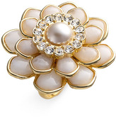 Kate Spade 'sweet Zinnia' Oversized Floral Ring