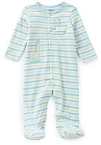 Little Me Baby Boys Preemie-9 Months Giraffe Footed Coverall