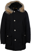 Woolrich Black Down Filled Arctic Parka