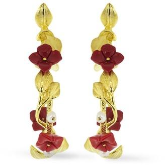 OF RARE ORIGIN 18kt Yellow Gold Mini Hoop Earrings