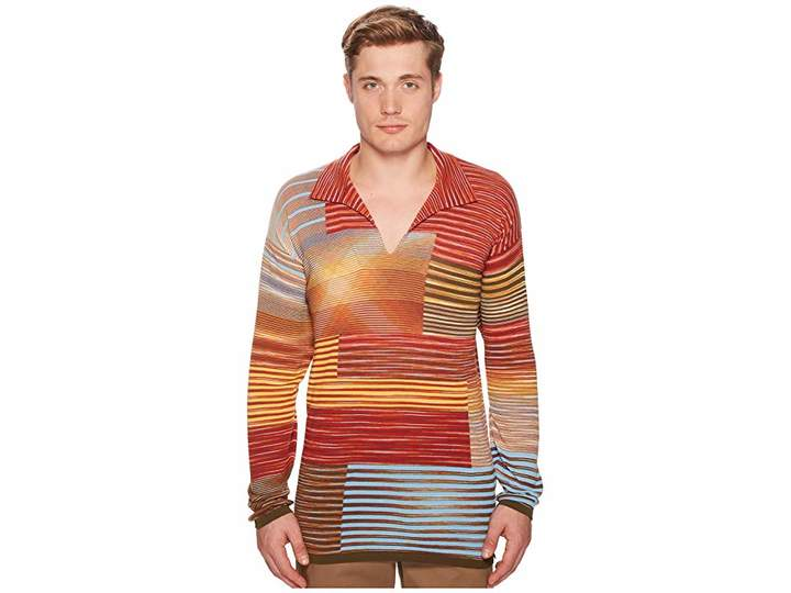 Missoni Sfumato Intarsia Pullover Sweater Men's Sweater