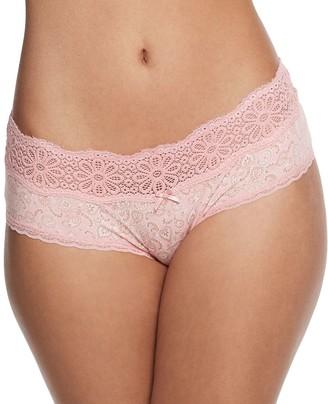 So SO Cotton Daisy Lace Boybrief Panty