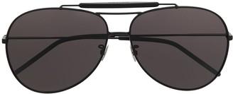 Saint Laurent Aviator-Frame Tinted Sunglasses