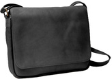 Royce Leather Women's Vaquetta Shoulder Bag with Flap
