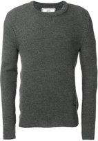 Ami Alexandre Mattiussi fisherman rib crew neck sweater