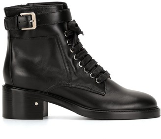 Laurence Dacade Solene lace-up ankle boots