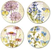 Certified International Herb Garden 4-pc. Dinner Plate Set