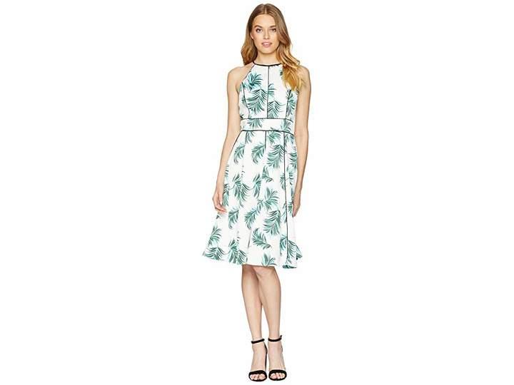 Adelyn Rae Mina Halter Fit Flare Women's Dress