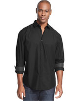 Alfani Big and Tall Verve Iridescent Shirt