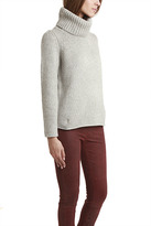 Helmut Lang Fitted Luxe Blend Pullover Turtleneck