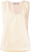 MAISON KITSUNÉ June side-strap top - women - Cotton - 36