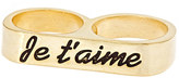 Je Taime Twosome Ring