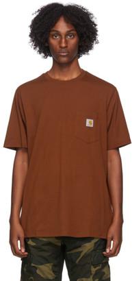 Carhartt Work In Progress Tan Pocket T-Shirt