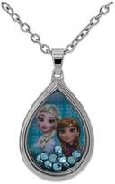 Disney Girls Elsa and Anna Shaker Pendant