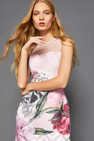 Ted Baker Floral Scalloped Dress