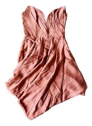 Zimmermann Orange Silk Dress for Women