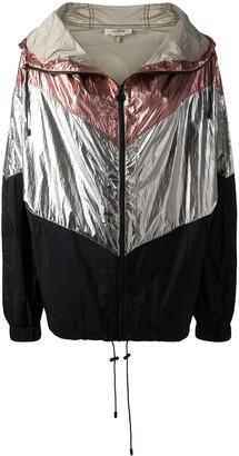 Isabel Marant Contrast-Panel Hooded Jacket