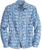 American Rag Men's Tropical-Print Long-Sleeve Shirt, Only at Macy's
