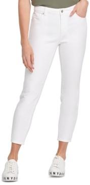 DKNY Varick Mid Rise Skinny Jean