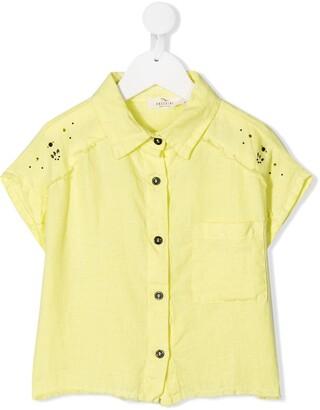 Andorine Stud-Embellished Linen Shirt