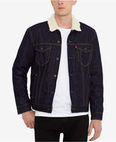 Levi's Sherpa Denim Trucker Jacket