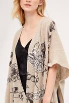 Anthropologie Floret Applique Kimono